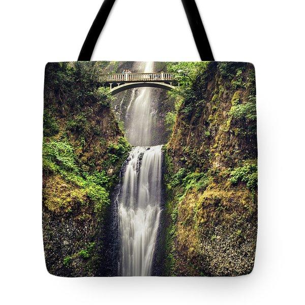 Multnomah Falls Lower Tote Bag