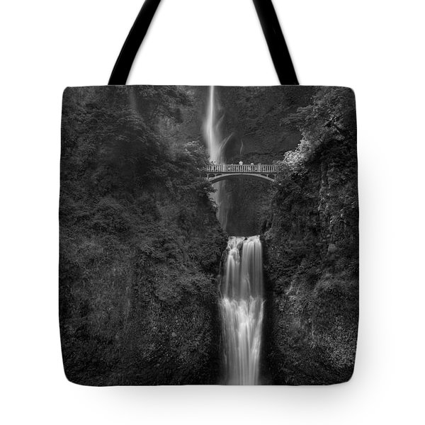 Multnomah Falls Tote Bag by Sue Cullumber