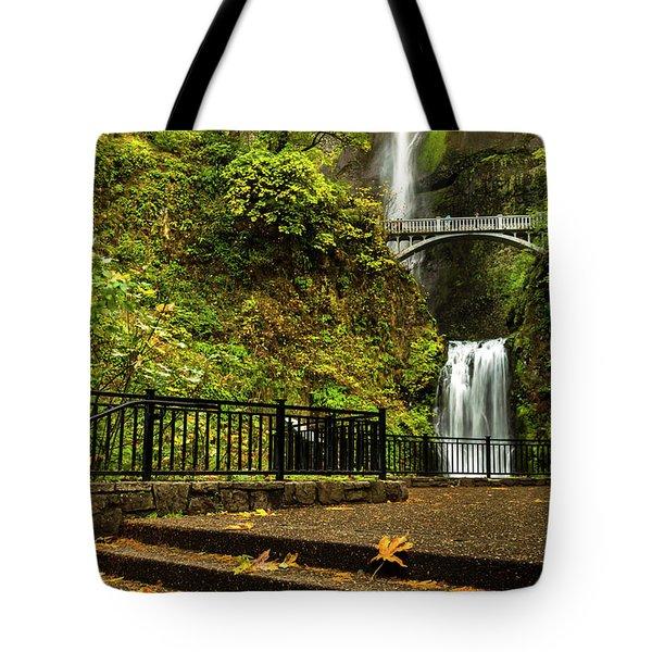 Multnomah Falls,oregon Tote Bag