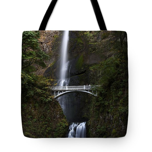 Multonomah Falls Tote Bag by John Gilbert