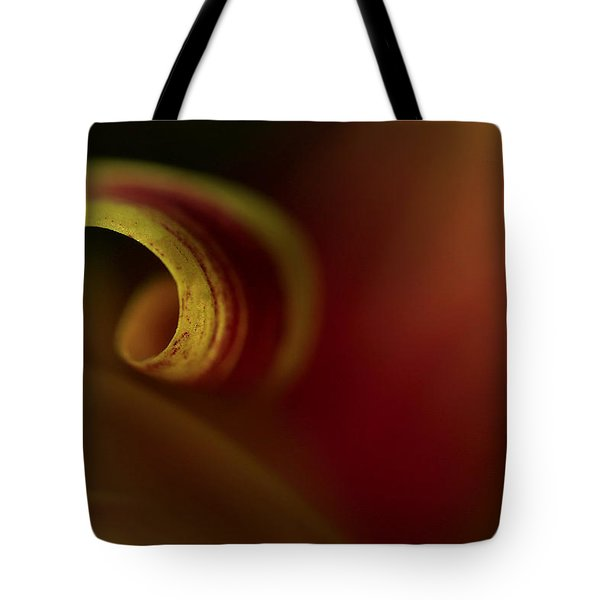 Mum Curl Abstract Tote Bag