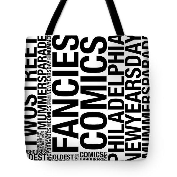 Mummers Terms Tote Bag