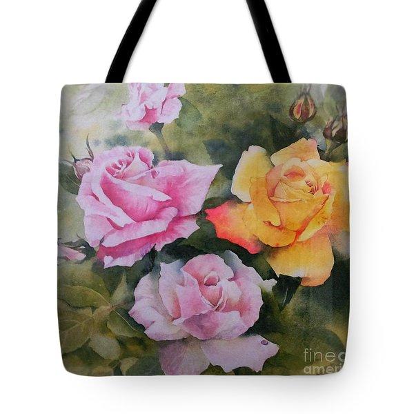 Mum's Roses Tote Bag