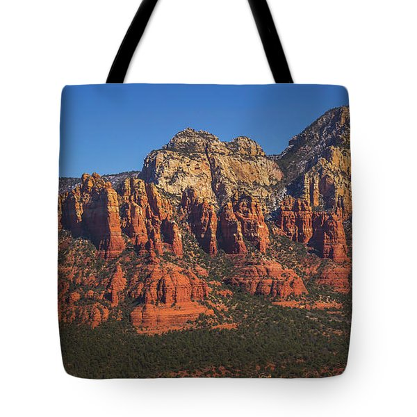 Munds Mountain Panorama Tote Bag