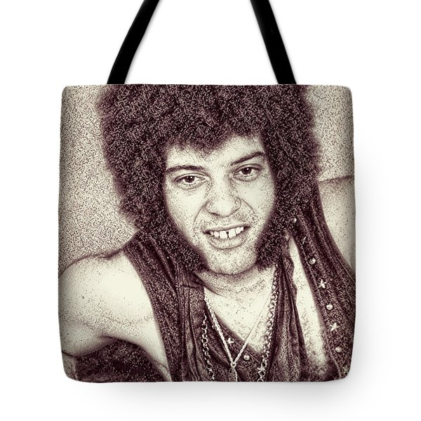 Mungo Jerry Portrait - Drawing Tote Bag
