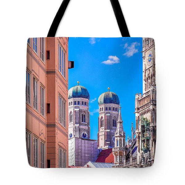 Munich Center Tote Bag