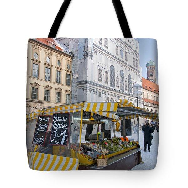 Munich Fruit Seller Tote Bag