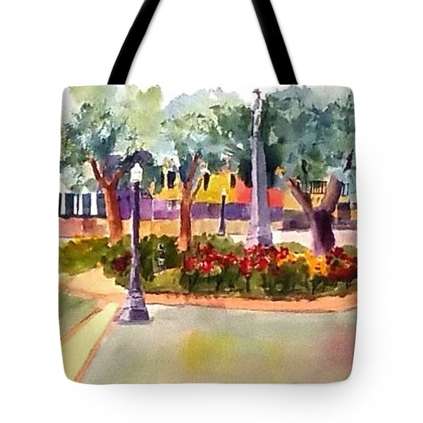 Munn Park, Lakeland, Fl Tote Bag