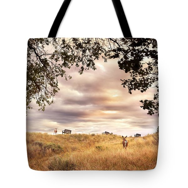 Munson Morning Tote Bag