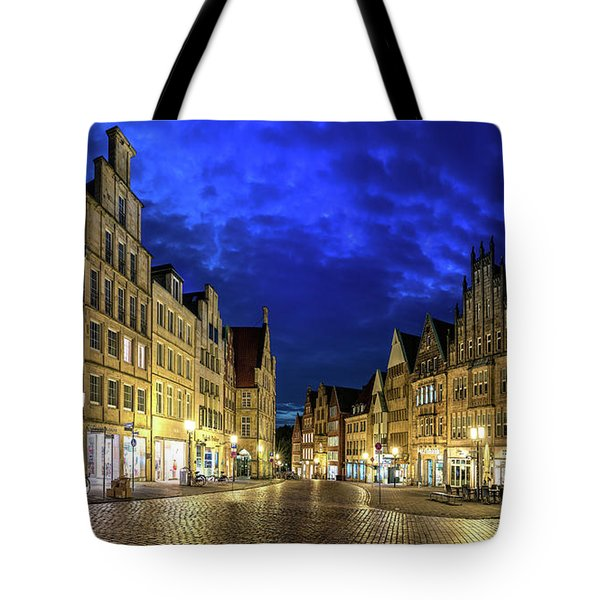 Munster Prinzipalmarkt Tote Bag