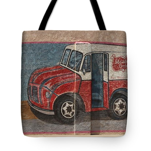 Mural On Historic Route 66 Tote Bag