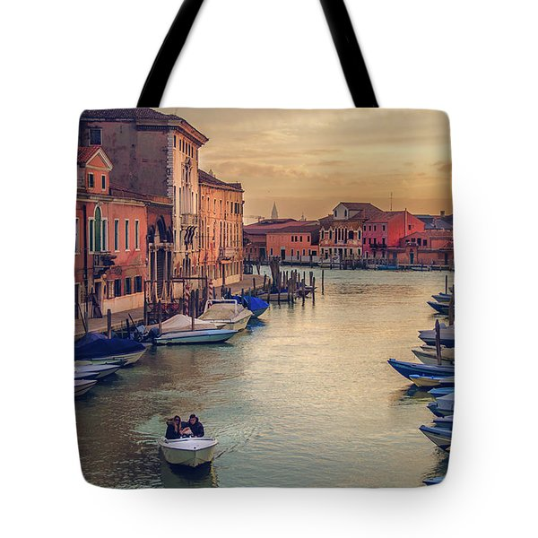 Murano Late Afternoon Tote Bag