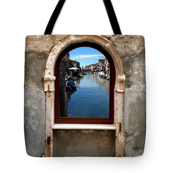 Murano Reflection Tote Bag