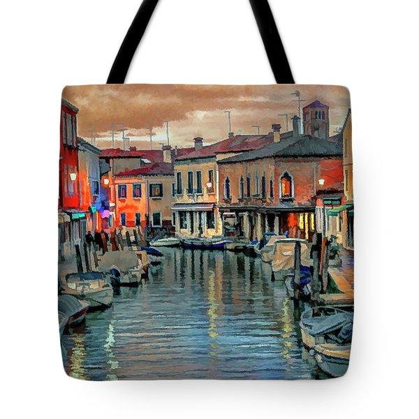 Murano Twilight Tote Bag