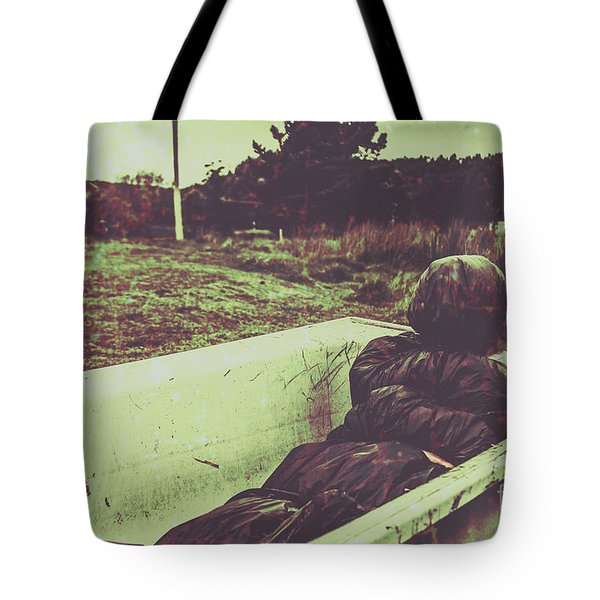 Murder Body Bag Tote Bag