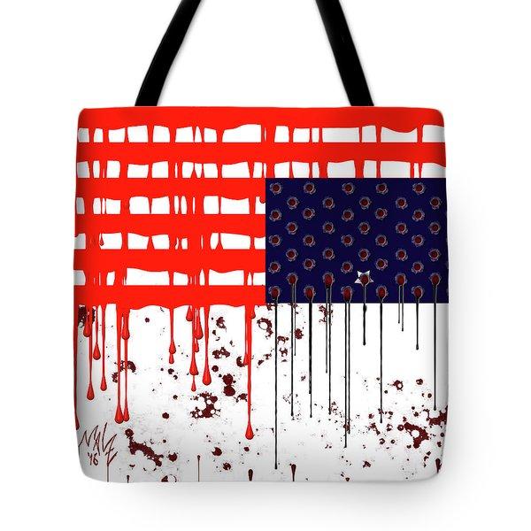 America In Distress Tote Bag