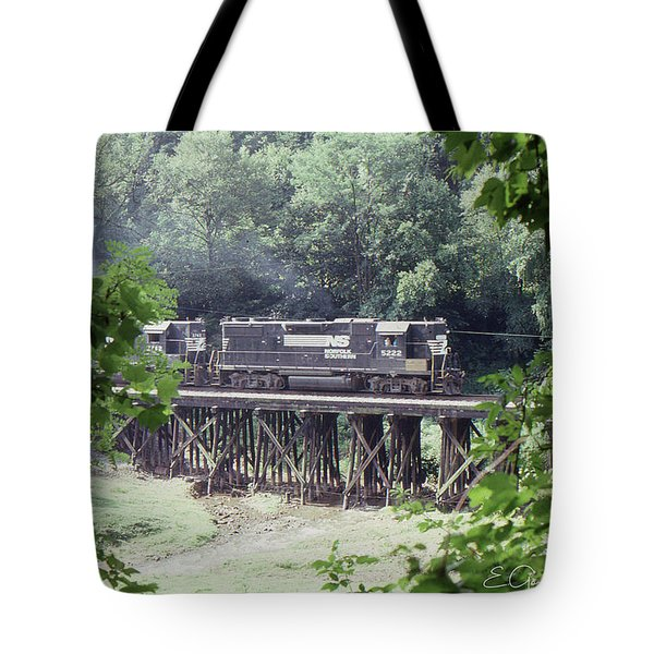 Murphy Branch Freight Tote Bag