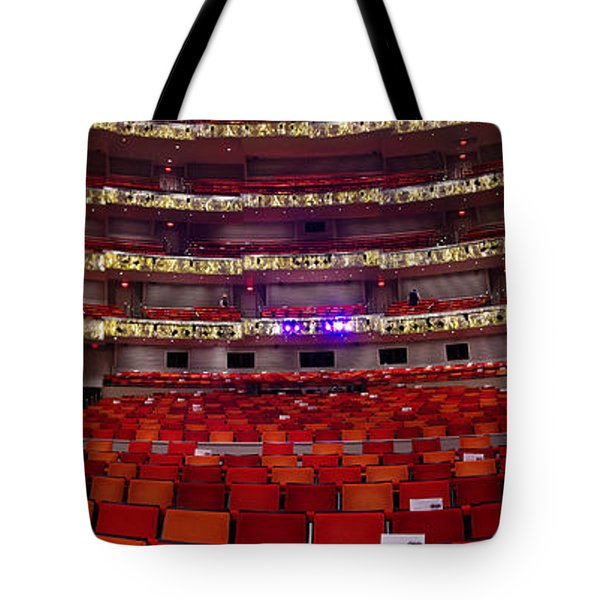 Tote Bag featuring the photograph Murrel Kauffman Theater by Jim Mathis