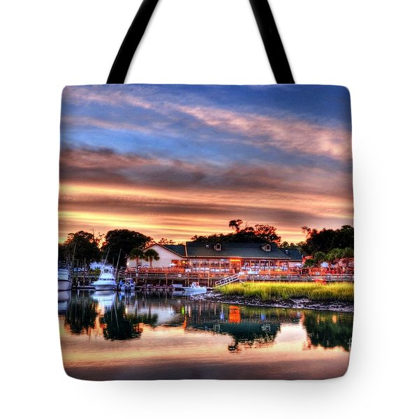 Murrells Inlet Sunset 3 Tote Bag
