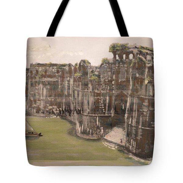Murud Janjira Fort Tote Bag by Vikram Singh