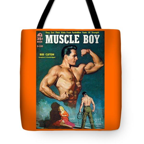 Muscle Boy Tote Bag