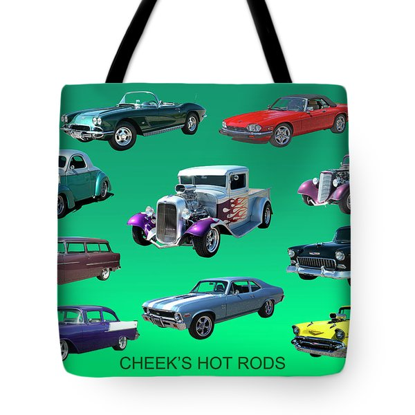 Muscle Times 9 Tote Bag by Jack Pumphrey