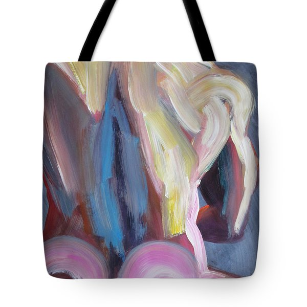 Muscular Back Upright Tote Bag