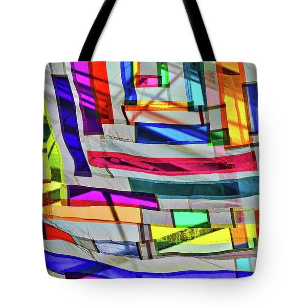 Museum Atrium Art Abstract Tote Bag