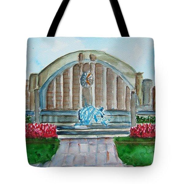 Museum Center Tote Bag by Elaine Duras