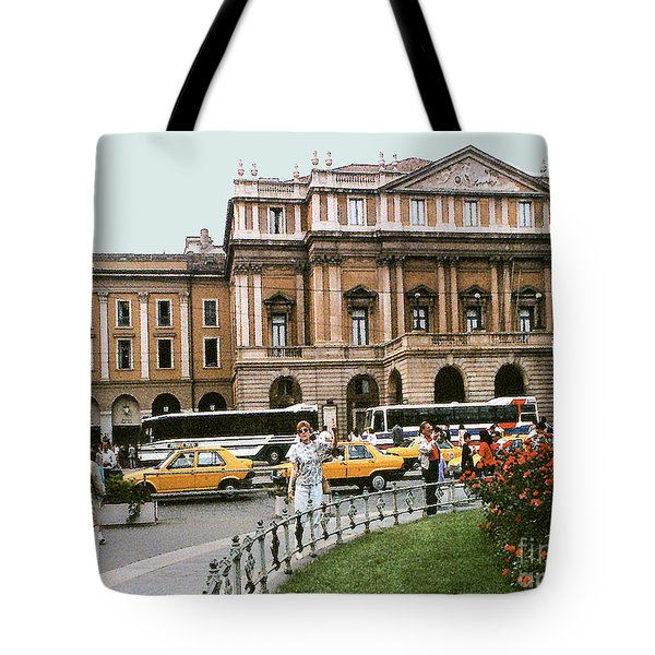 Tote Bag featuring the photograph Museum Housing Leonardo Divinci's Last Supper Painting - Milan, Italy by Merton Allen