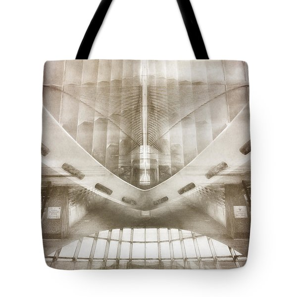 Museum Inside Out Tote Bag by Scott Norris
