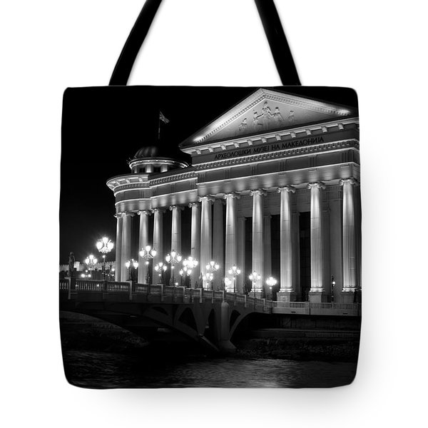 Museum Of Archaeology Tote Bag by Rae Tucker