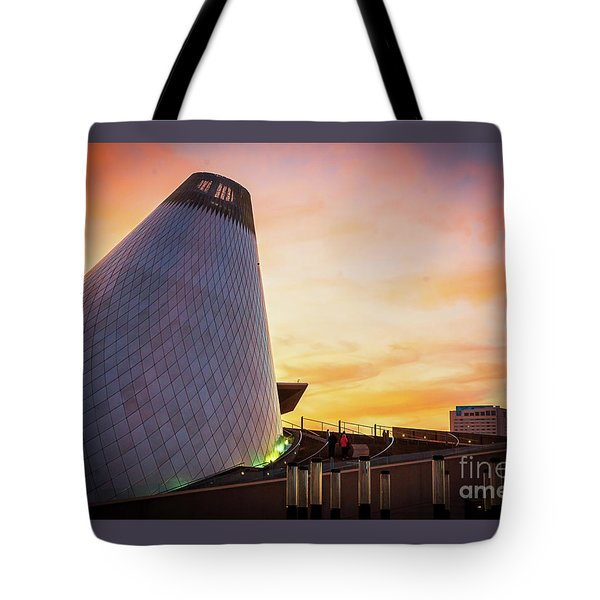 Museum Of Glass Tower#2 Tote Bag