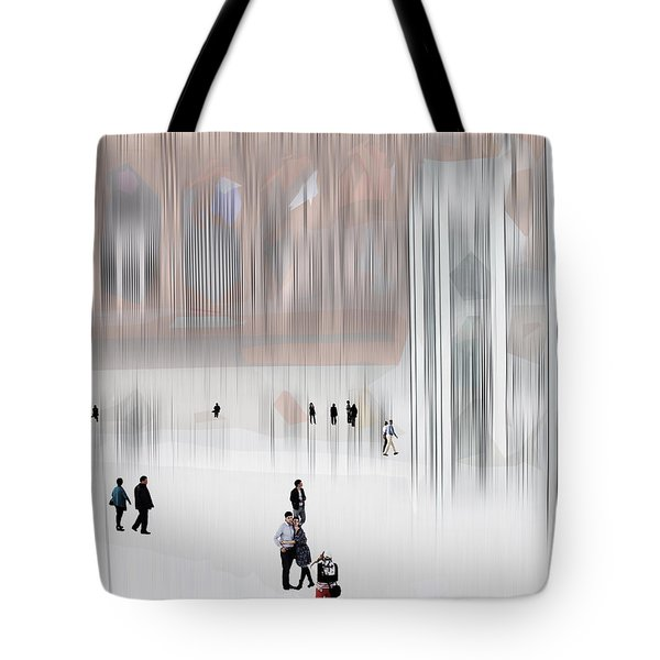 Tote Bag featuring the digital art Museum Of Nothing by Pedro L Gili