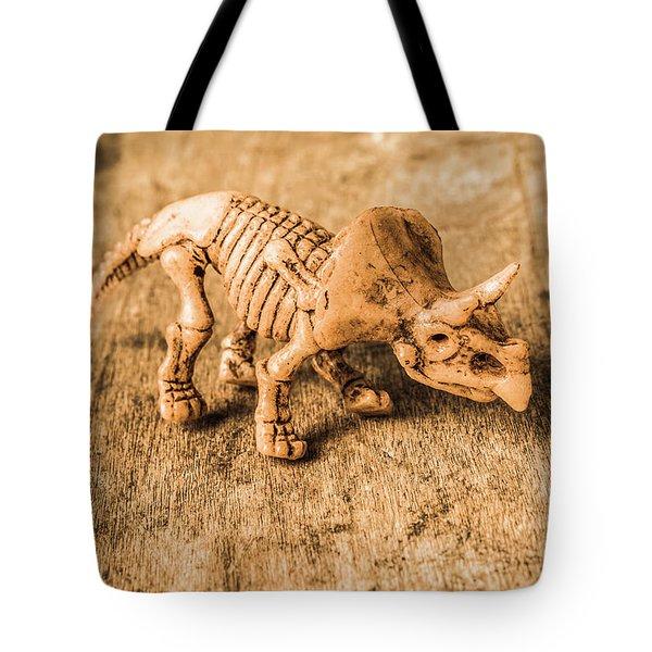 Museum Of Plastic Extinctions Tote Bag