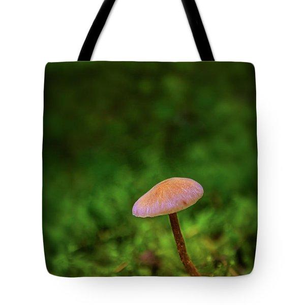 Mushflower Tote Bag