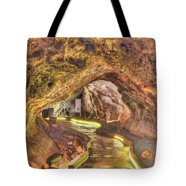 Mushpot Cave Tote Bag