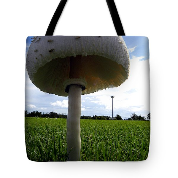 Mushroom 005 Tote Bag by Chris Mercer