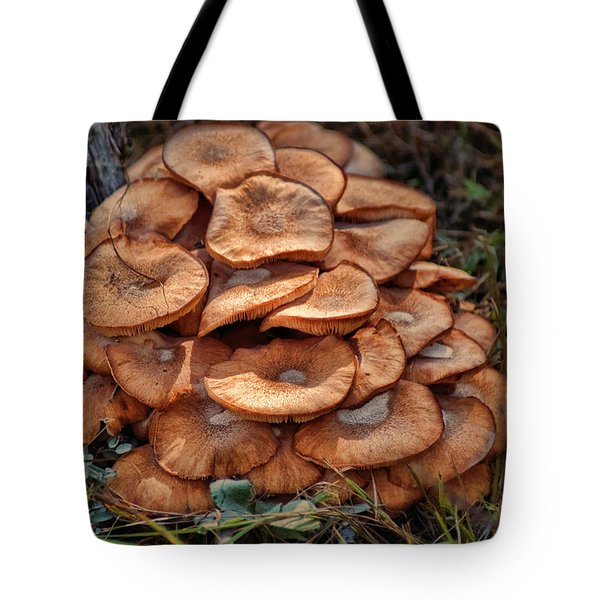 Mushroom Bouquet Tote Bag