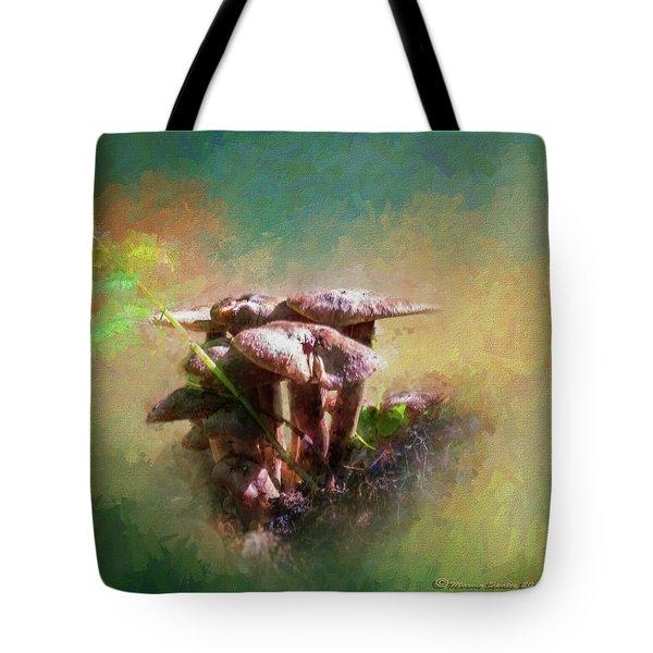 Mushroom Patch Tote Bag