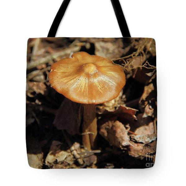 Mushroom Rising Tote Bag