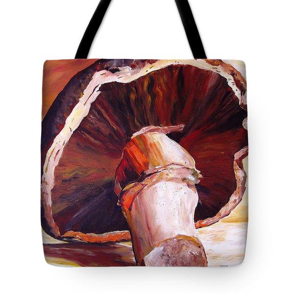 Mushroom Still Life Tote Bag
