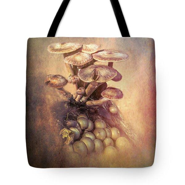 Mushrooms Gone Wild Tote Bag
