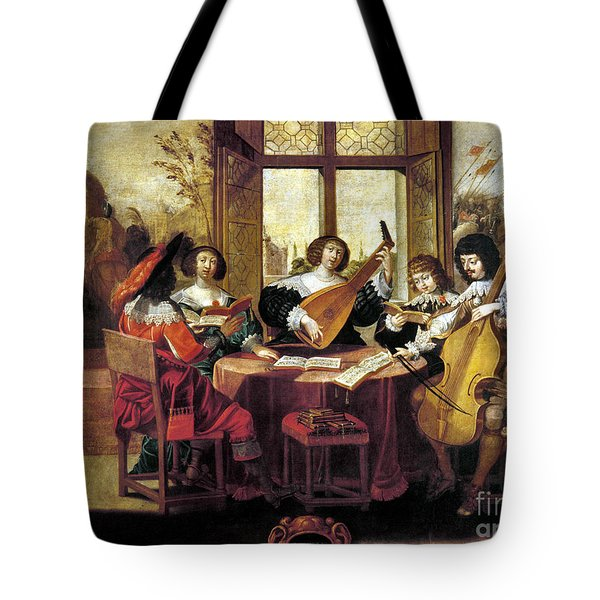 Music, 17th Century Tote Bag by Granger