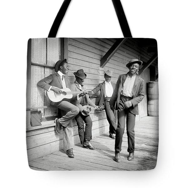 Music And Dancing C. 1902 Tote Bag