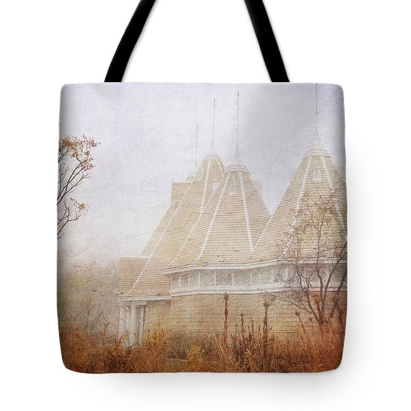 Tote Bag featuring the photograph Music And Fog by Heidi Hermes