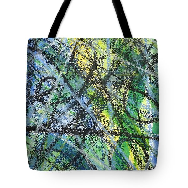 Music And Rhythm Tote Bag by Holly York
