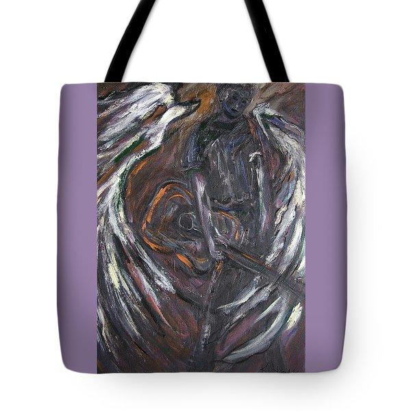 Music Angel Of Broken Wings Tote Bag