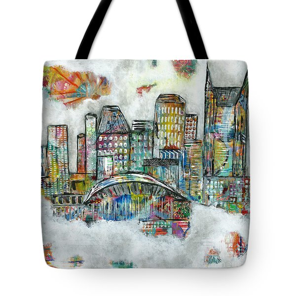 Music City Dreams Tote Bag