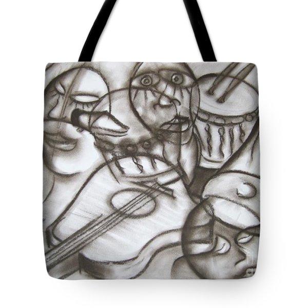 Music Dreams And Illusions Tote Bag
